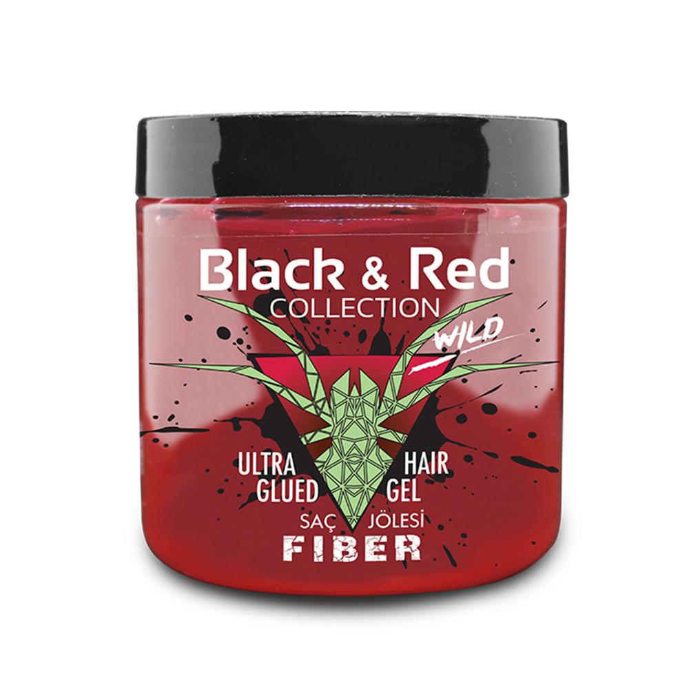 B&R WILD ULTRA GLUED HAIR GEL - FIBER / 2107-02