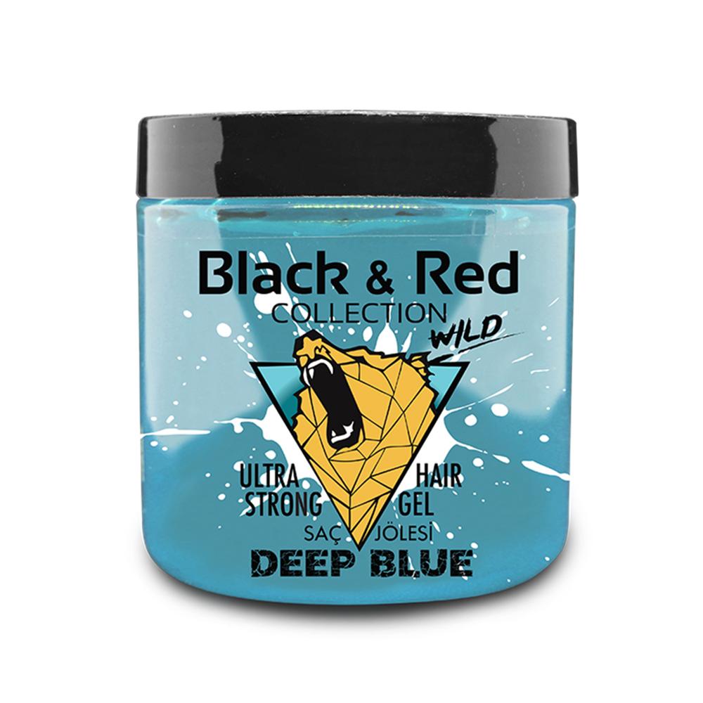 B&R WILD ULTRA STRONG HAIR GEL - DEEP BLUE / 2107-03