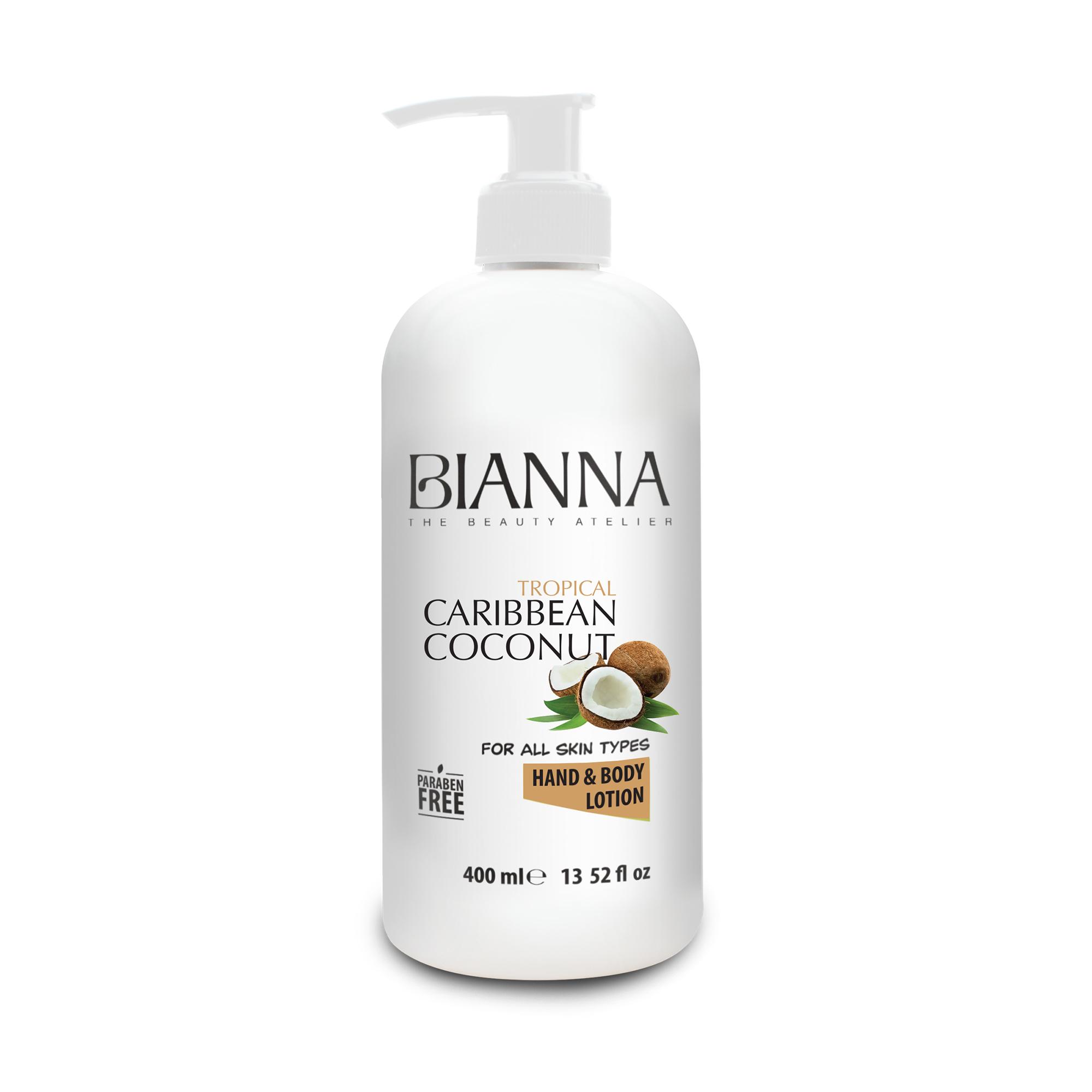 BIANNA HAND & BODY LOTION - CARIBBEAN COCONUT  / 2209-03