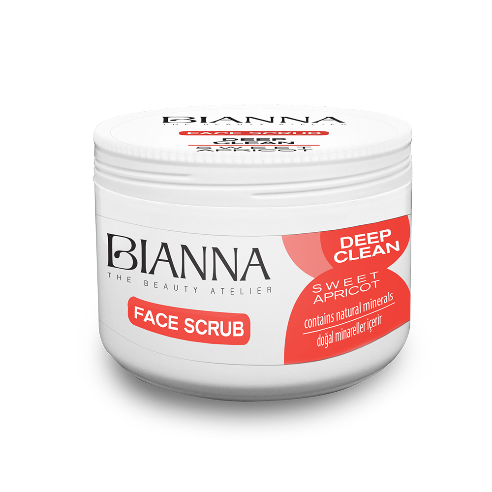 BIANNA FACE SCRUB - SWEET APRICOT / 2204-01