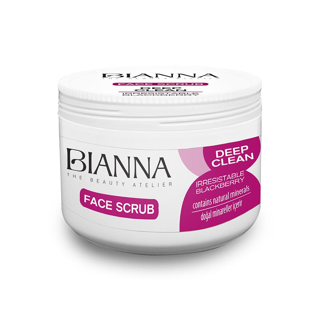 BIANNA FACE SCRUB - BLACKBERRY / 2204-02